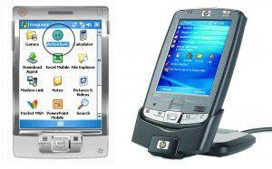 Pocket PC y Palm Tungsten T3 de 2003. Pero esto, ¿no lo había inventado Apple?