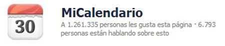 Facebook-MiCalendario
