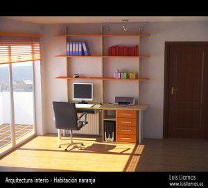 habitacion-naranja