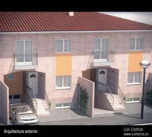 render-exterior-vivienda