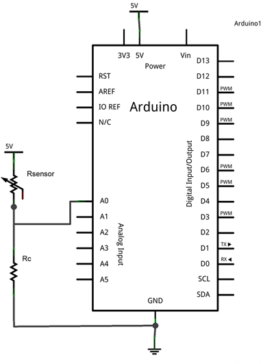 medir-resistencia-arduino-esquema