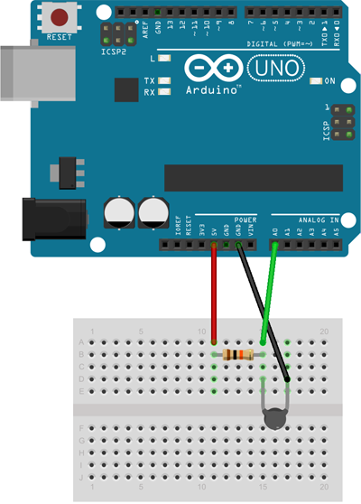 arduino-termistor-montaje