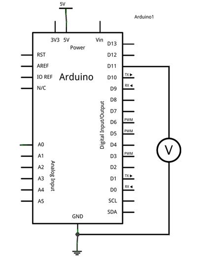 arduino-salida-analógica-esquema