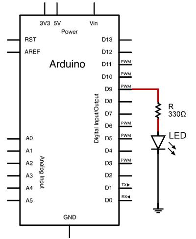 arduino-led-esquema-electrico