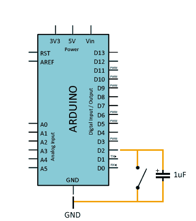 Leer un pulsador con Arduino con interrupciones y debounce