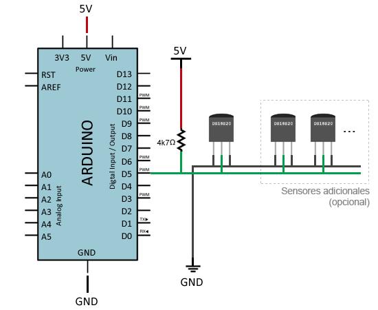 arduino-ds18b20-montaje-parasito