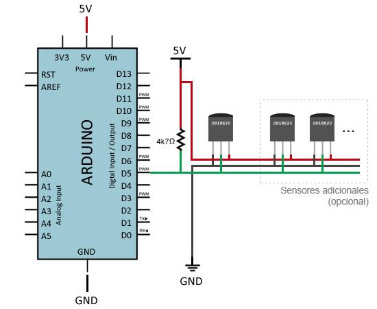 arduino-ds18b20-montaje