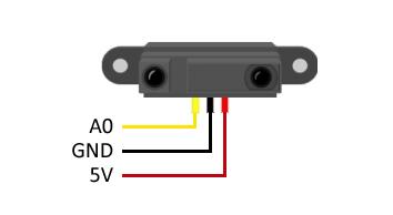arduino-sharp-GP2Y0A02YK0F1-esquema