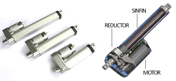 Tipos de actuadores lineales para proyectos arduino