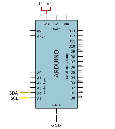 arduino-acelerometro-adxl345-conexion