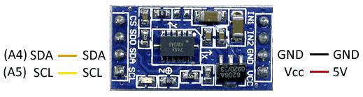 arduino-acelerometro-mma7455-esquema