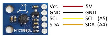arduino-brujula-hmc5883-gy273-esquema