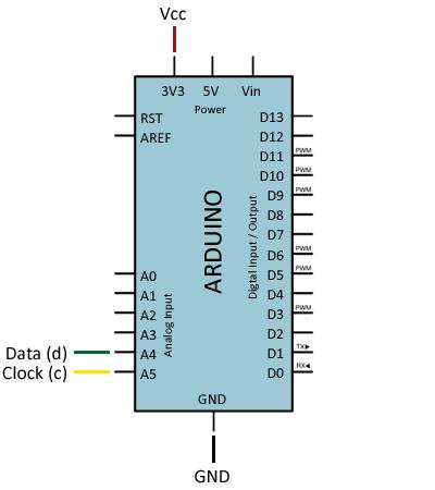 arduino-wiichuck-conexion