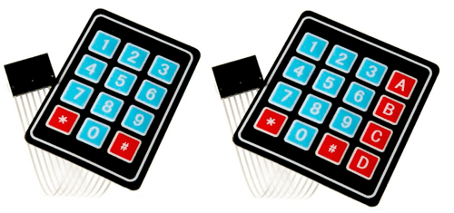 arduino-teclado-matricial-componente