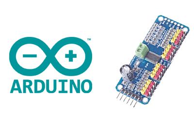 arduino-controlador-servos-pwm-pca9685