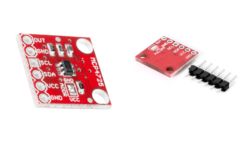 arduino-dac-12bits-mcp4725-componente