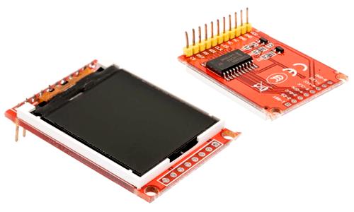 arduino-tft-st7735-componente