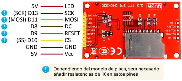 arduino_lcd_tft_ili9341-conexion