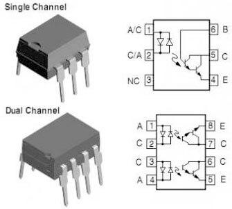 arduino optoacoplador dip - Electrogeek