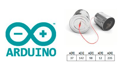 arduino puerto serie array - Electrogeek
