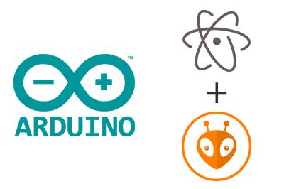 arduino atom platformio IDE - Electrogeek