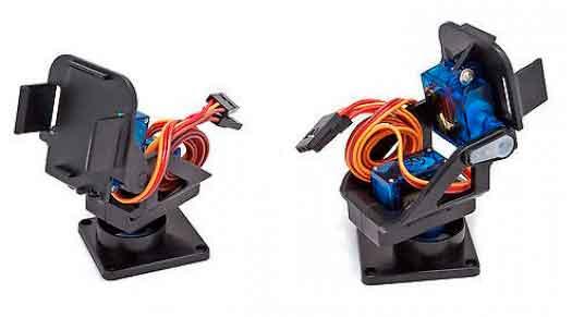 arduino torreta servo 2 dof plastico - Electrogeek