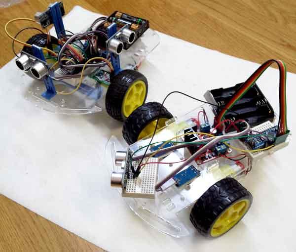 Coche robot barato wd con arduino presupuesto