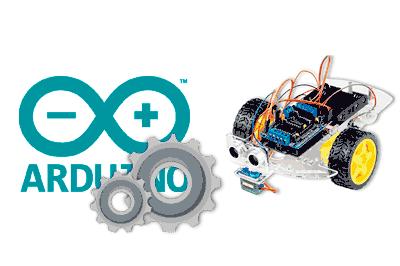 coche robot barato arduino - Electrogeek