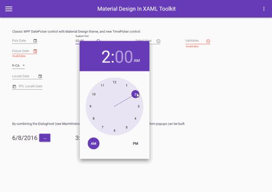 Aplicaciones con UI moderno en C# con Material Design XAML