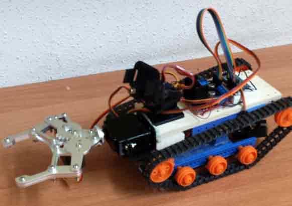 Construir Un Robot Con Cadenas Controlado Por Arduino