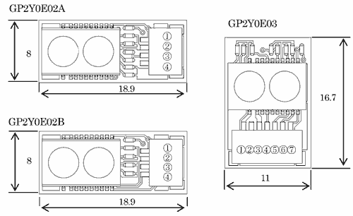 arduino GP2Y0E03 esquema - Electrogeek