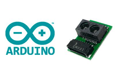 arduino GP2Y0E03 - Electrogeek